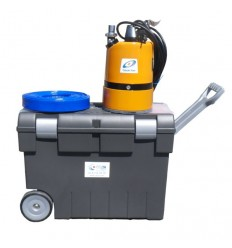 Kit pompe serpillère avec chariot + tuyau