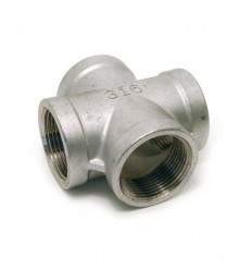 Stainless steel AISI 316 female cross coupling