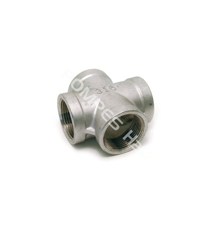 Stainless Steel Coupler : Stainless steel aisi female cross coupling