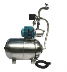 POMPES H2O JARDINOX M55/75 pressure boosting unit in stainless steel 60L 230V