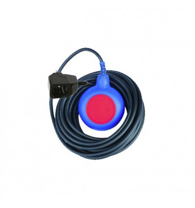 Float switch + 2P remote-control connection plug