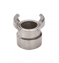 Stainless steel AISI 316 female symmetrical coupling without lock