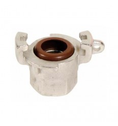 Stainless steel AISI 316 female express half coupling
