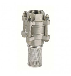 3 pieces stainless steel (316) check valve