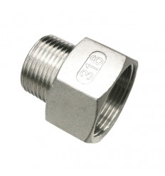 "Stainless steel AISI 316 reduced nipple F M - DN 1/8"" - DN 2"""
