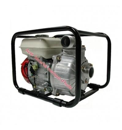 Motopompe essence sans Plomb, moteur Honda 4CV - Pompe Tsurumi TET 50 HA - Débit maxi 35 m3/h - Pression maxi 3 bars