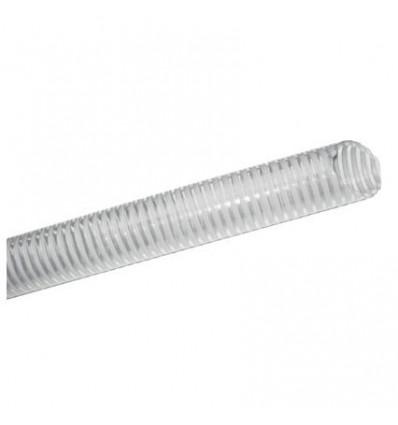 Tuyau PVC spirale antichoc Ø76 int. (vendu au mètre)