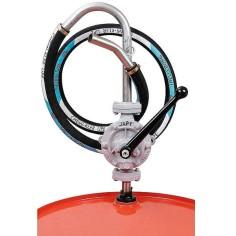 Pompe manuelle JAPY équipée pour les solvants agressifs non nflammables - Trichloréthylène - Modèle FHL-POLY