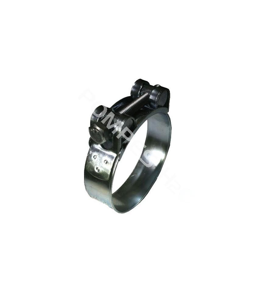 Collier de serrage large en inox 304 - Collier serrage inox ...