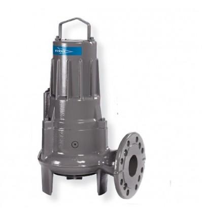 Pompe submersible eaux usées FLYGT D-8200 - Refoulement DN100 - Roue vortex - Moteur 4 pôles 1450 tr/min