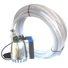 Kit pompe de relevage 0.45 Kw mono eau propre ou légèrement chargées