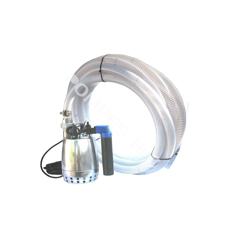 kit pompe inox pour eaux de drainage pluviales puisard. Black Bedroom Furniture Sets. Home Design Ideas