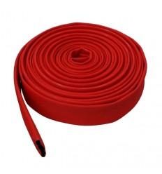 Tuyau enroulable à plat rouge caoutchouc tissé - PS 15 bar - DN 70 - Vendu au mètre
