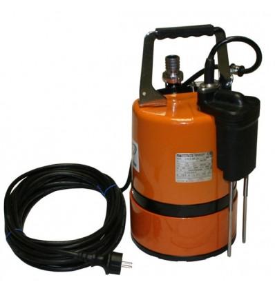 Pompe d'épuisement automatique jusqu'à 1 mm - Pompe LSC AUTO avec 2 électrodes de détection niveau au ras du sol