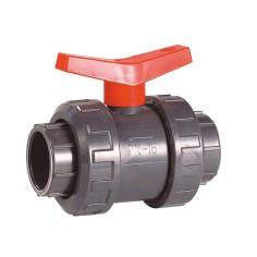 Vanne PVC-U  à coller  F/F modèle Industrie