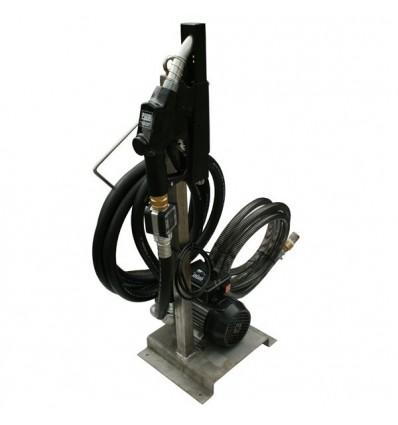 Distributeur de gasoil 100 l/min avec pistolet automatique, compteur litre, flexible de refoulement 6m, kit d'aspiration 5m