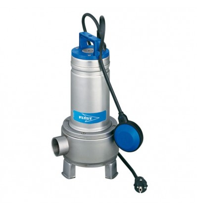 FLYGT Delinox DXVM sewage pump 230V with vortex impeller