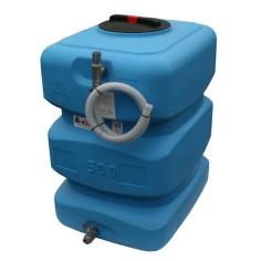 Bâche de disconnexion eau de ville 500L équipée - BACS-500