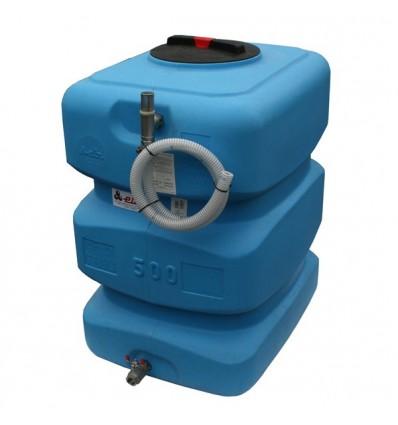 Bâche de reprise 1000L + Pompe immergée à vitesse variable (1 à 3 m3/h)