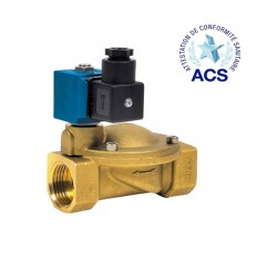 Electrovanne à membrane assistée pour eau potable - ESM 86 W (230 Vac)