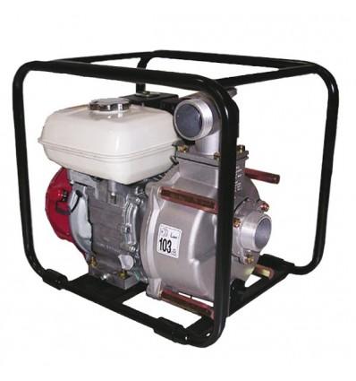 "Motopompe Diesel Robin 4.8 CV Pompe 7 bars Tsurumi TEF3 5ORD - 3 sorties 2 x 1"" DN25 + 1 x 1"" 1/2 DN40/45, aspiration 2"" DN50"
