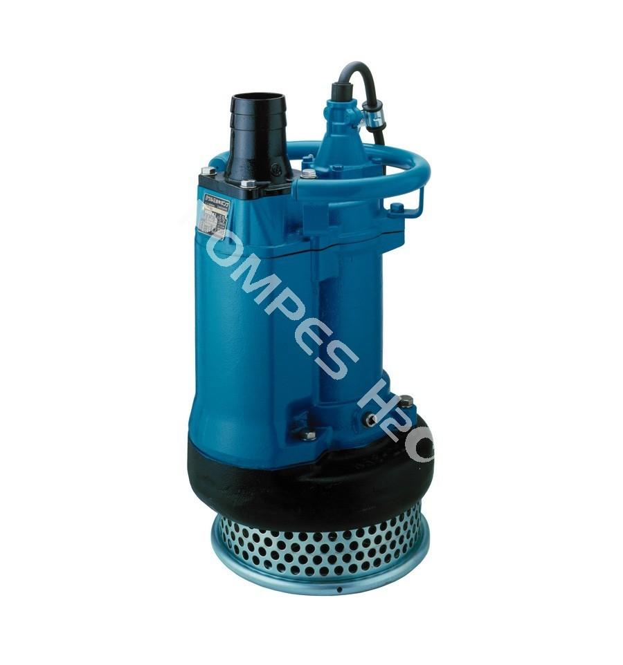 pompe submersible en fonte dure 4 p les tsurumi krs tri. Black Bedroom Furniture Sets. Home Design Ideas