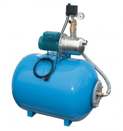 Supresseur horizontal 200L avec pompe 1.10 ou 1.50 Kw