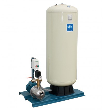 CALPEDA HYDROMAX-220 water booster pressure group 300L 400V 2.20kw