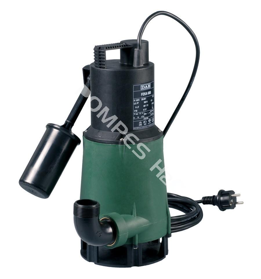 Pompe submersible de drainage et relevage dab jetly feka 600 - Pompe de relevage eaux usees ...