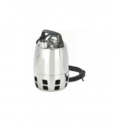 Pompe de drainage inox eau propre ou chargée GXV (400V)