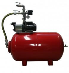 Surpresseur horizontal 300L avec pompe multicellulaire auto-amorçante LOWARA HMA 1.40 Kw ou 1.80 Kw (mono ou tri)