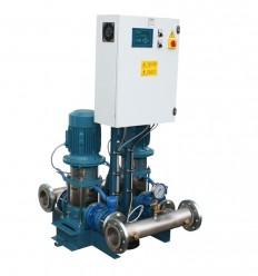 Surpresseur 2 pompes verticales Calpeda MXV à vitesse variable- Débit 48, 98 ou 120 m3/h