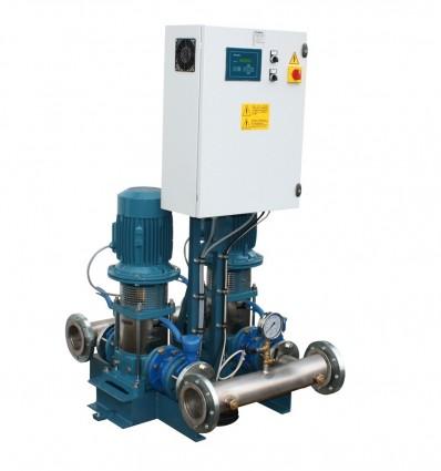 Surpresszeur 2 pompes verticales MXV - Débit 48, 98 ou 120 m3/h