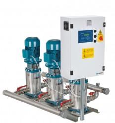Groupe surpresseur 3 pompes verticales MXV à vitesse variable - Débit 72, 132 ou 180 m3/h