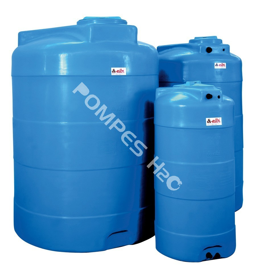 r u00e9servoir vertical eau potable en poly u00e8thyl u00e8ne hd- 1000 l - 1500 l - 2000 l - 3000 l