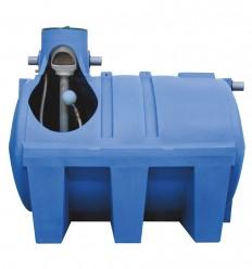 Citerne enterrée renforcée avec filtration incorporée - Capacité 2900, 4000, 5600 et 10 000 L