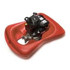 Motopompe sur flotteur 3.5 ou 6 CV essence 4 temps pompage d'eau claire