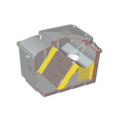 Dégrilleur filtration amont fosse poste station de releavge