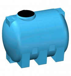 Cuve de stockage et transport eau potable en PE N°85R