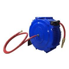 Enrouleur Automatique 15m tuyau renforcé PS 12 bar - Gamme pro usage intensif pour amené eau froide