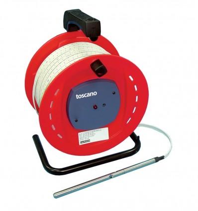 Sonde de niveau d'eau portable Toscano (50 ou 200 m)