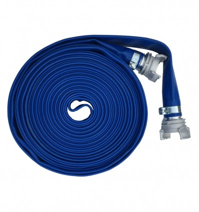 Kit tuyau plat double couche DN150 (ALU) - PS 5 BAR