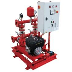Surpresseur incendie mixte RIA - PIA / pompe électrique + pompe thermique