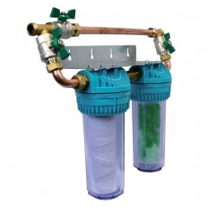 Filtre duplex anti-tartre Aquafhos pro