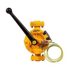 Pompe manuelle semi-rotative ATEX - Eau - Solvants - Essence - Hydrocarbures