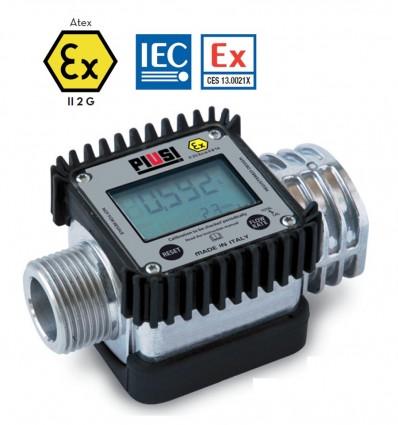 Compteur litre de carburant électronique PIUSI K24 ATEX