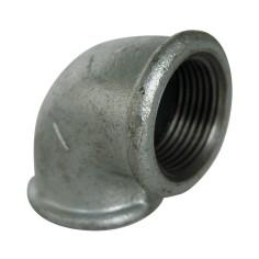 Coude à 90° F/F en acier galvanisé