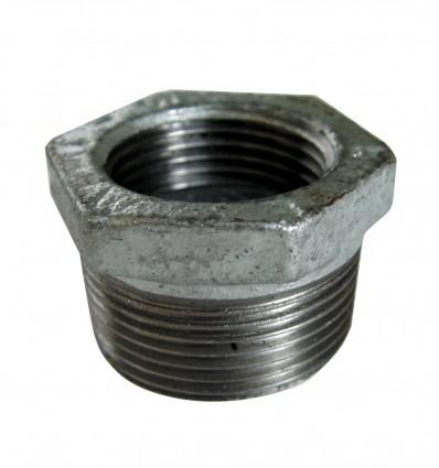 Réduction M/F en acier galvanisé