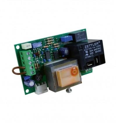 Platine pour 1 ou 2 électrodes de niveau coffret MCOMP (mono électrode temporisation 0 à 12 mn, bi-électrode niveau haut/bas