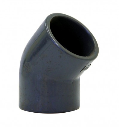 Coude à 45° F/F PVC PRESSION